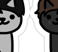 Dan and Phil Neko Atsume Cats Sticker