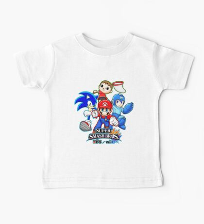 Super Smash Bros Baby Tee