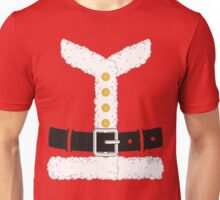 Santa Claus Red Christmas Costume Outfit Unisex T-Shirt