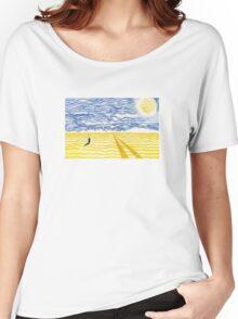 Untitled Desert Print Women's Relaxed Fit T-Shirt