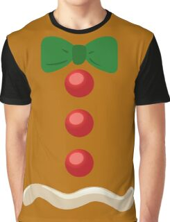 Gingerbread Man Christmas Costume Graphic T-Shirt