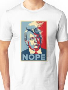 Nope Trump Not My President Unisex T-Shirt