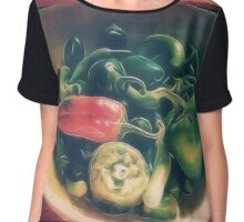 Still life with hot peppers Chiffon Top