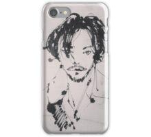 KON's work: his hair & eyes & love iPhone Case/Skin