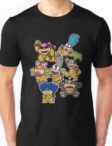 Koopalings - Paper Mario: Color Splash Unisex T-Shirt