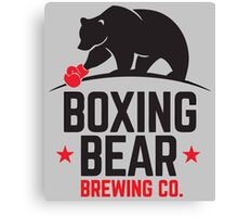 Boxing Bear Brewing Co. Canvas Print