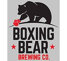 Boxing Bear Brewing Co. Photographic Print