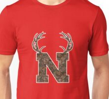 Nebraska Hunting Club Big Deer Rack Camouflage Pride Unisex T-Shirt