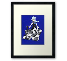 What is your next step? Framed Print