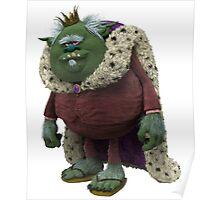 Trolls King Gristle Sr Poster