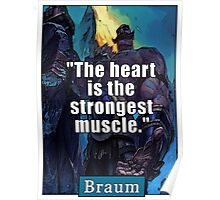 League of Legends: Braum support Poster