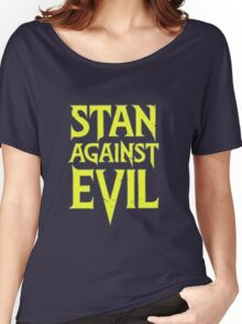 Stan Against Evil Logo Women's Relaxed Fit T-Shirt