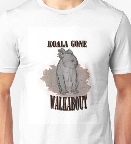 Koala Gone Walkabout Unisex T-Shirt