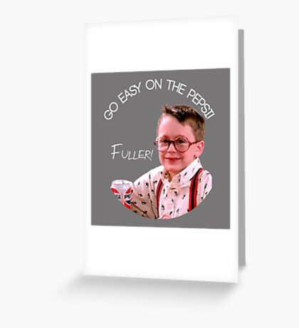 He Wets the Bed Greeting Card