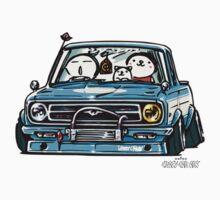 Crazy Car Art 0144 Kids Tee