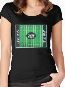 HOME FIELD ADVANTAGE  Women's Fitted Scoop T-Shirt