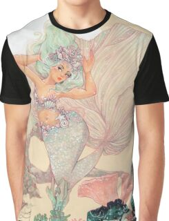 Frozen Mermaid Graphic T-Shirt