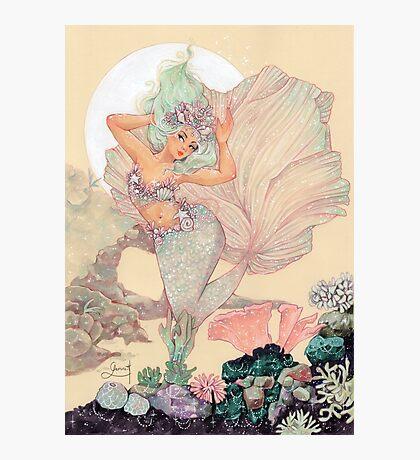 Frozen Mermaid Photographic Print