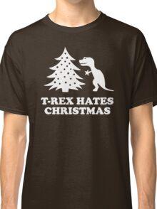 T-Rex hates Christmas Classic T-Shirt