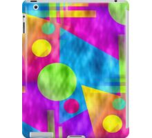 Retro-Seamless 80s-Style Abstracts iPad Case/Skin