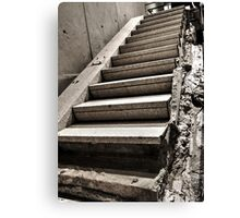 Vesey Street Remnant Canvas Print