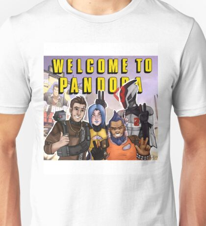 Welcome to Pandora! Unisex T-Shirt