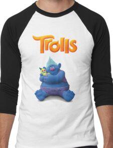 Creek Trolls Men's Baseball ¾ T-Shirt