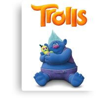 Creek Trolls Canvas Print