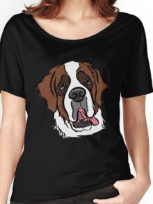 Goofy St. Bernard Women's Relaxed Fit T-Shirt