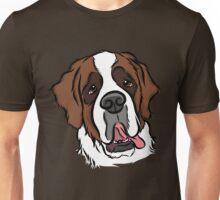 Goofy St. Bernard Unisex T-Shirt