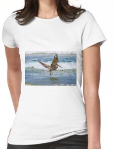 Cleared for Landing Womens Fitted T-Shirt