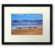 Dune Ride Framed Print
