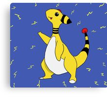 Pokemon Ampharos Canvas Print