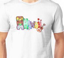 Hawaiian Icons - Hawaii Unisex T-Shirt