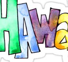 Hawaiian Icons - Hawaii Sticker