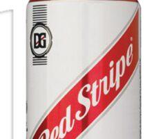 Red Stripe:II - Tall Can  Sticker