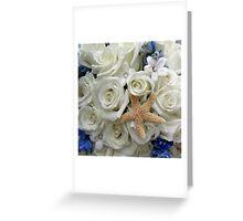 Seaside Flowers Greeting Card