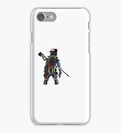 Mr Videogame Person Character iPhone Case/Skin