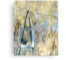 The Easel Canvas Print