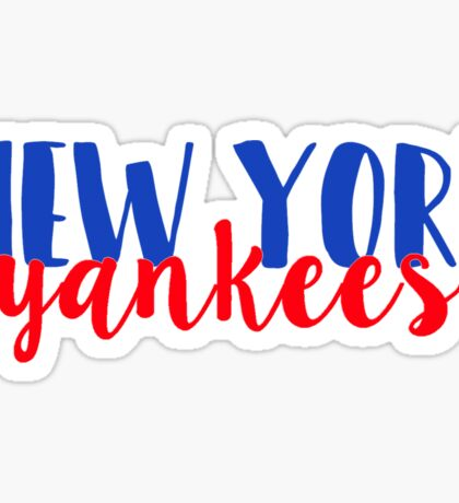 New York Yankees Sticker