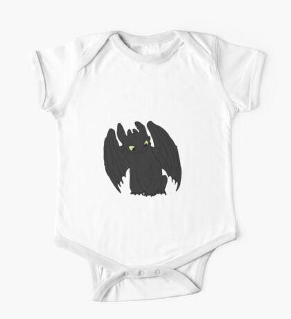 Little Toothless One Piece - Short Sleeve