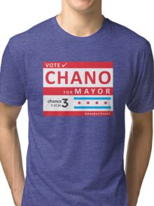 chano4mayor Tri-blend T-Shirt