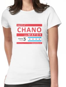 chano4mayor Womens Fitted T-Shirt