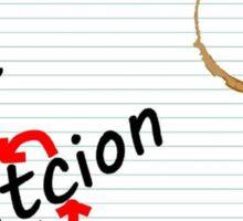 Dyslexic Diction Sticker