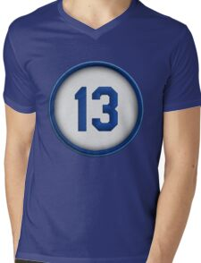 13 - Salvy Mens V-Neck T-Shirt