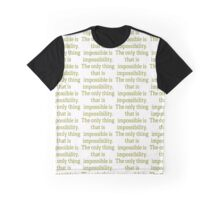 Phineas - Phineas and Ferb Quote Graphic T-Shirt