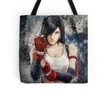 Tifa Lockhart FF7 Portrait Tote Bag