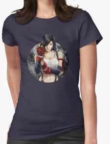 Tifa Lockhart FF7 Portrait Womens Fitted T-Shirt