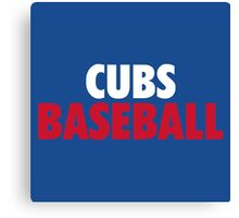Clubs Baseball Gifts and Merchandise Canvas Print