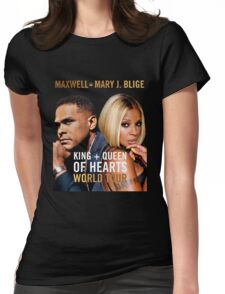 Maxwell & Mary J. Blige Tour 2016 Womens Fitted T-Shirt
